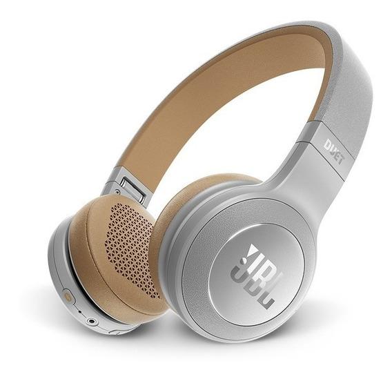 Headphone Jbl Duet Grey Bluetooth Over Ear + Bolsa + Cabo