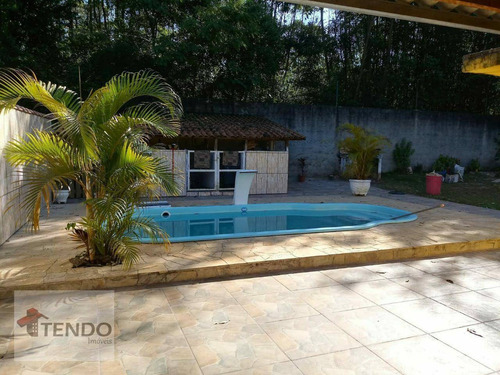 Imob03 - Chácara Com 3 Dormitórios À Venda, 2000 M² Por R$ 795.000 - Chácara Estância Paulista - Suzano/sp - Ch0061