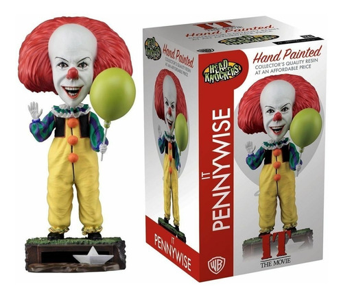 It Pennywise Head Knockers Hand Painted Neca Orig. Replay