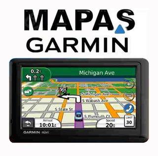 Mapas Gps Garmin Colombia + Usa Norte America 3d + Pois.