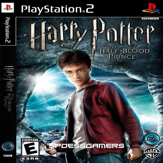 Harry Potter E O Enigma Do Príncipe Ps2 Desbloqueado Patch