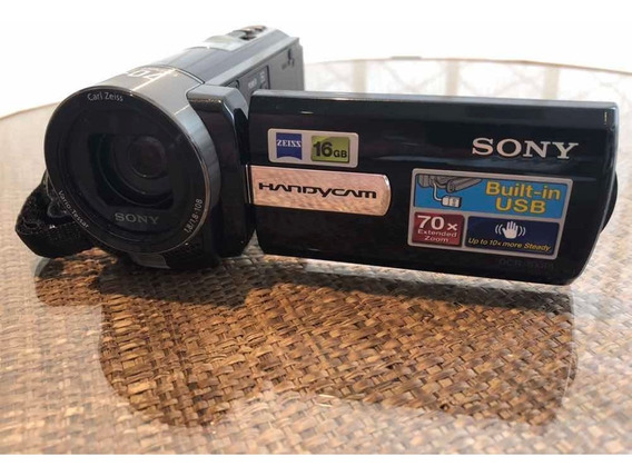 Filmadora Digital Sony Dcr Sx85 70x 16gb Novíssima