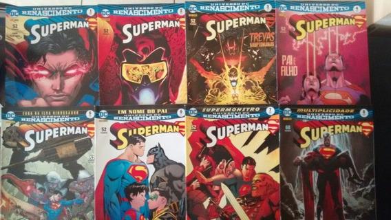 Superman 1 A 8 + Action 1 A 8 Renascimento (2017)