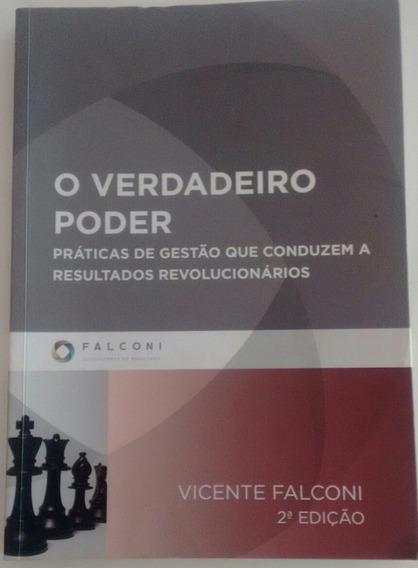 Livro O Verdadeiro Pode Vicente Falcone Semi Novo Promoção
