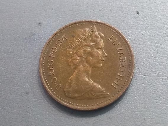 Reino Unido 1 Nuevo Penique, 1971 Bronce Lote 3036