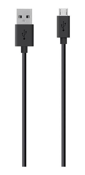 Cable Belkin De Sincronización Carga Micro Usb Mixit Negro