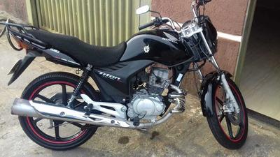 Moto Honda Titan Ex Mix 150, 2011 Preta
