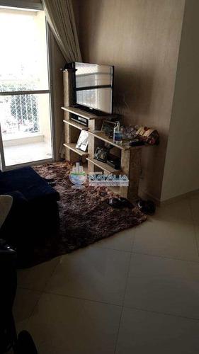 Apartamento Com 3 Dorms, Vila Carmem, São Paulo - R$ 320.000,00, 60m² - Codigo: 62507 - V62507