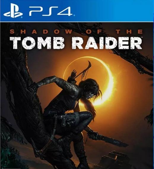 Shadow Of The Tomb Raider Ps4 1 Psn - Leia A Descriçao
