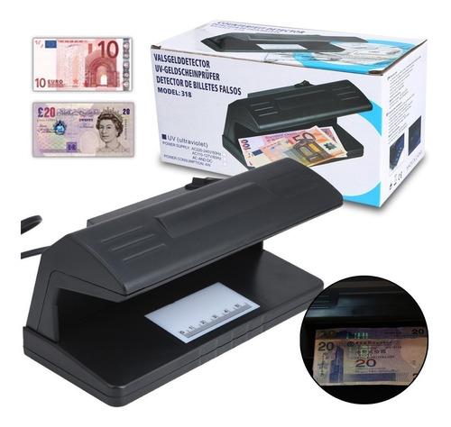 Maquina Detector Probador Revisar Billetes Dinero Falsos.