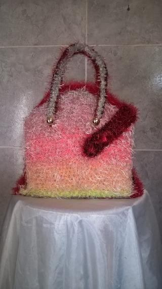 Bolsos Y Carteras Tejidas Al Crochet
