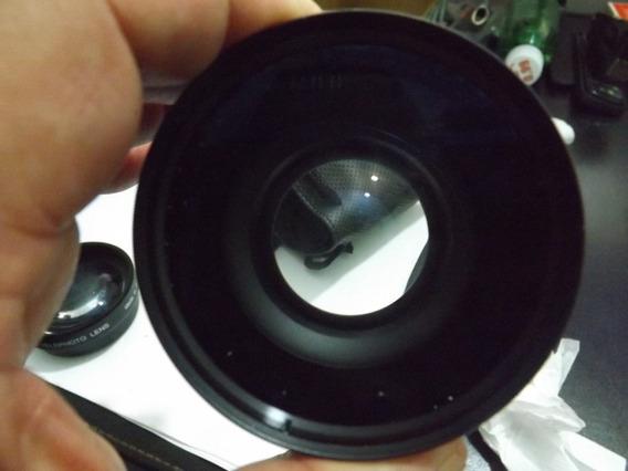 Camera Fujifilm S5100 Com Lentes Usada Com Defeito