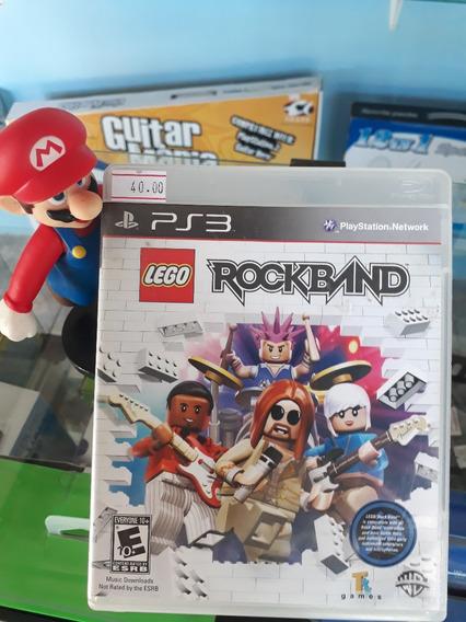 Lego Rock Band Ps3 Para Playstation 3 (semi Novo)