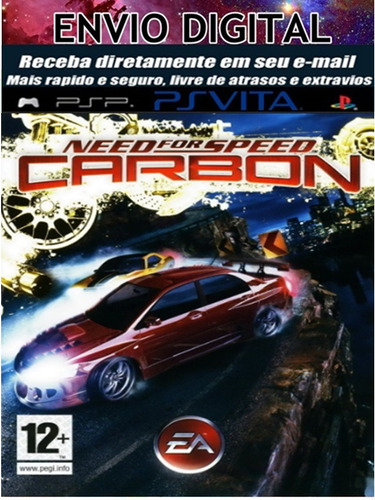 need for speed carbon para psp