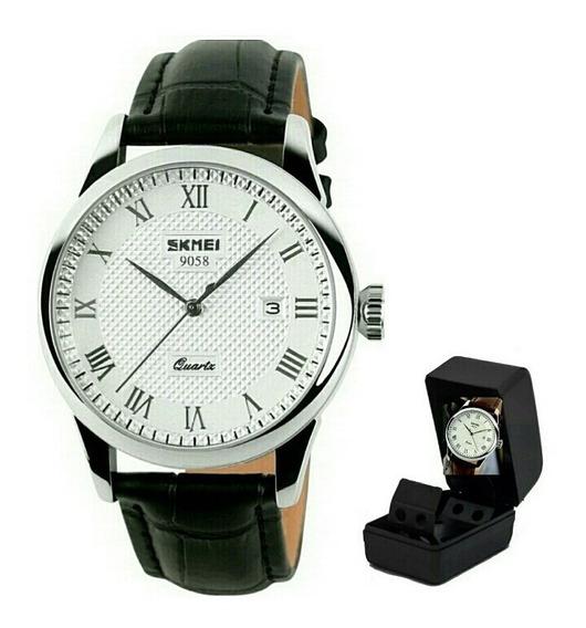 Relógio Original Skmei De Luxo Próva De Água Modelo 9058