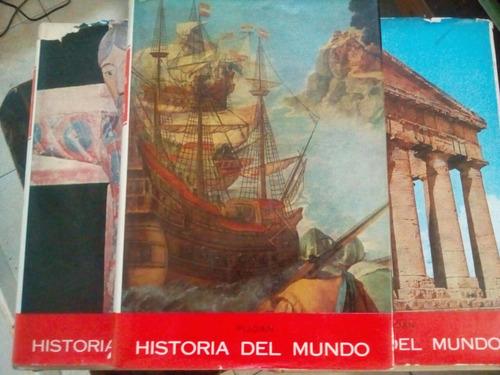 Historia Del Mundo - Piojan - 5 Tomos - Tapa Dura - U