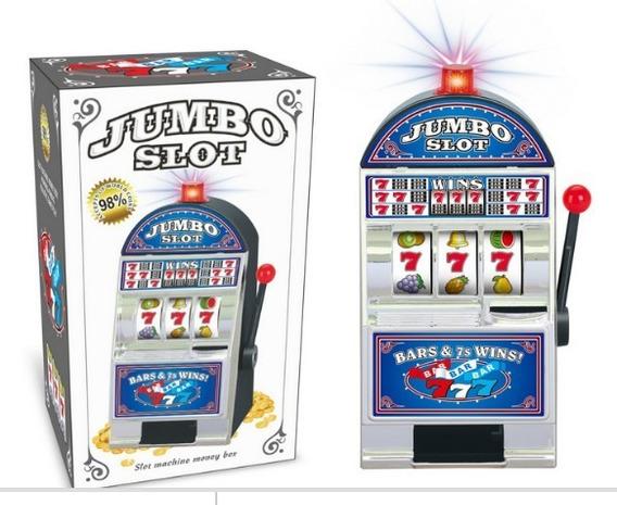 Jogo Cofre Cassino Slot Machine Cofre Decorativo
