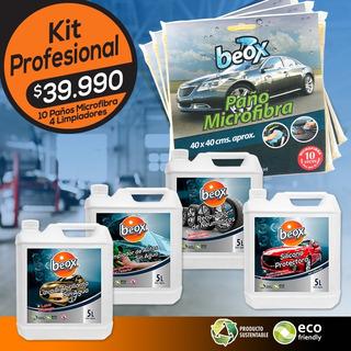 Lavado En Seco Auto Sin Agua Kit Profesional Beox®