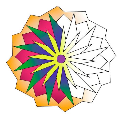 1200 Moldes De Mandala Para Colorir E Imprimir