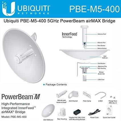 Ubiquiti Power Beam M5 400 Airmax 5 Ghz