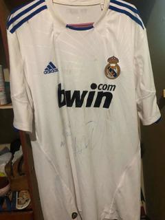 Camisa Kaka Real Madrid Autografada De Jogo