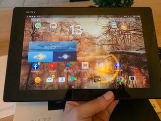 Tablet Sony Xperia Z2 - Con Funda Y Protector De Pantalla