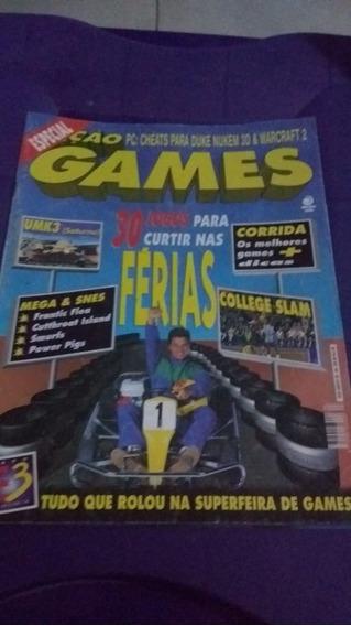 Revista Ação Games Nº 104 Junho 1996 Ótimo Estado
