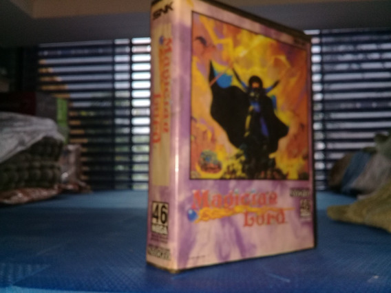 Magician Lord Neo Geo Aes.