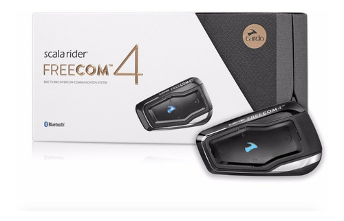 Intercomunicador Scala Rider Freecom 4 Cardo Single 1 Unidad