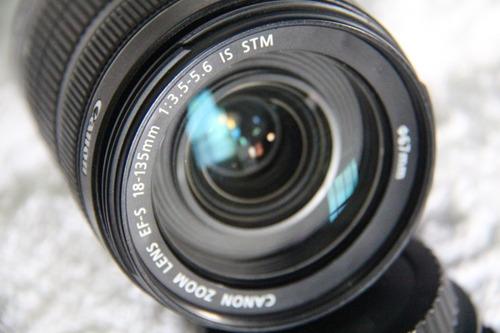 Lente Canon 18-135mm Stm Silenciosa . Desconto À Vista