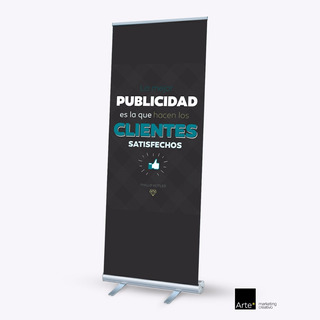 Banner Roll Up 80 X 200 Cms
