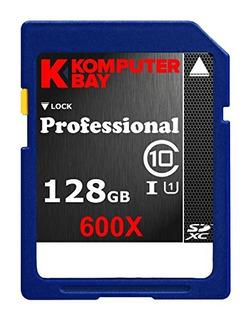 Tarjetas Sd,komputerbay 128gb Sdxc Secure Digital De Cap..