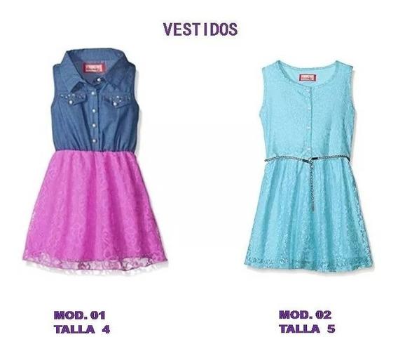 Vestidos De Niña, Conjuntos De Niña, Leggins, T 4 A 8