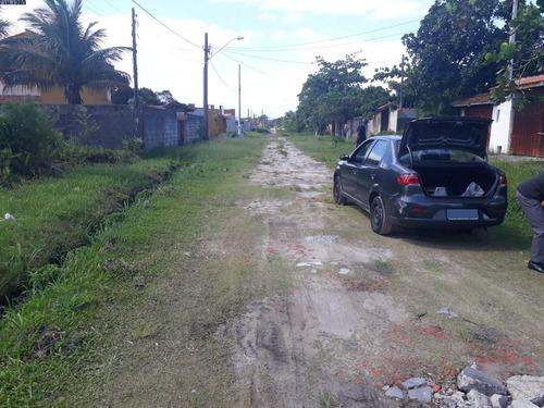 Terreno No Litoral Em Itanhaém/sp Lado Praia - Ter085 Lc