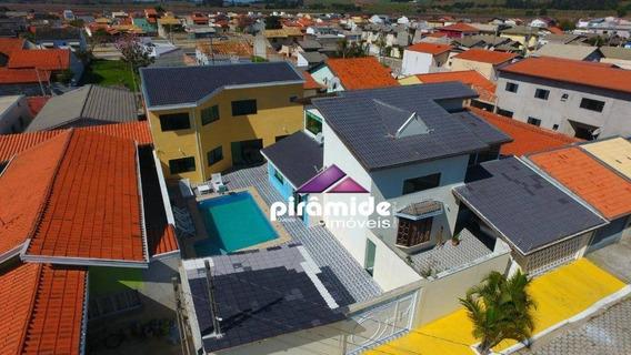 Casa Com 5 Dormitórios À Venda, 380 M² Por R$ 750.000 - Village Das Flores - Caçapava/sp - Ca5218