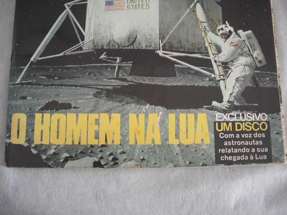 Revista Fatos E Fotos Missão Apolo Homem Na Lua
