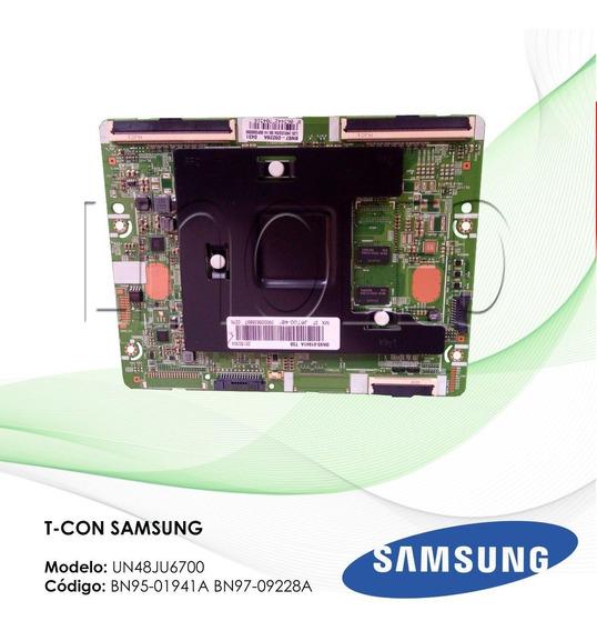 T-con Samsung Bn95-01941a Bn97-09228a Un48ju6700 Nova!