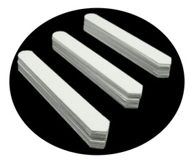 Barbatanas Plásticas Para Colarinho Camisa Kit C/40 Pares