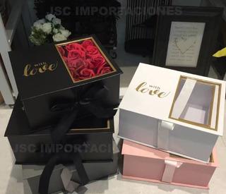Cajas - Regalos -flores- Rosas Dulces-etc