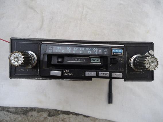 Antigo Rádio Toca Fitas Cce Cassette ( Leia Todo Anúncio )