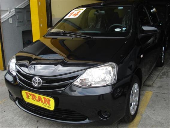 Toyota Etios Xs Motor 1.5 2014 Preto