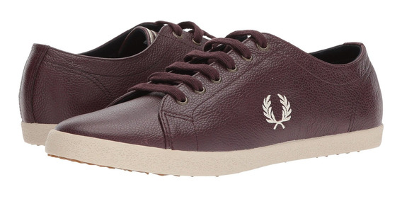 Zapatillas Hombre Fred Perry Kingston Scotchgrain Leather