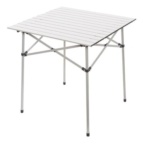 Mesa Camping Alumino Plegable Solcito 70 X 70 Cm Cuotas
