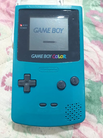 Game Boy Color Azul Funcionando Conservado