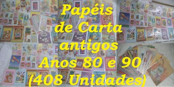 Venda - Coleção - Papéis - Carta - Antigos - 408 - Und