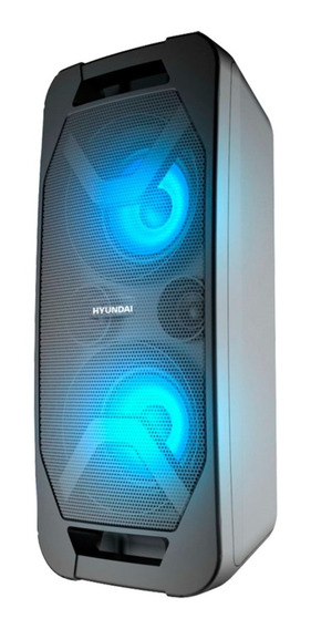 Parlante Multimedia Portatil Hyundai Con Bateria Recargable