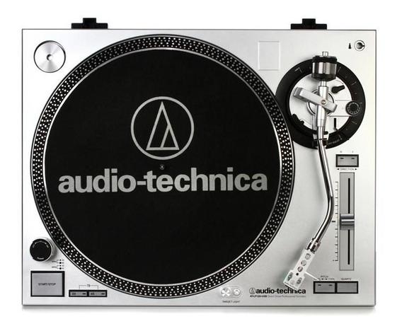 Toca-discos Audio-technica At-lp120-usb Prata (direct-drive)