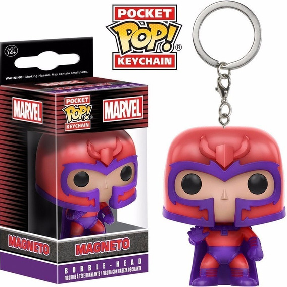 Chaveiro Magneto - X-men - Funko Pocket Pop!