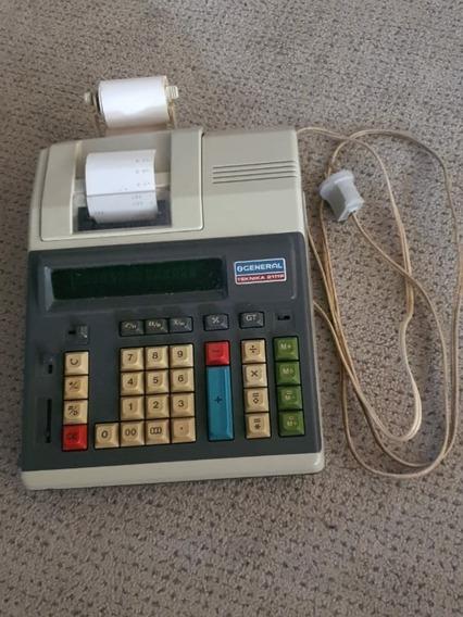 Calculadora Elétrica Com Bobina General Teknika 2111p
