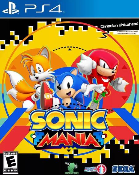 Sonic Mania Ps4 I Primaria I Envio Digital, Promoção